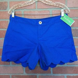 NWT Lilly Pulitzer Shorts Buttercup blue (3M53)